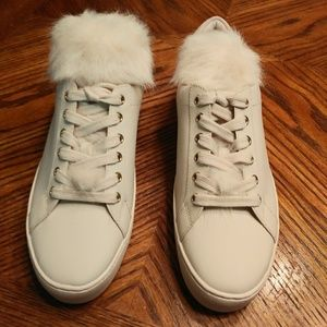 NWOT Michael Kors Sneakers With Faux Fur